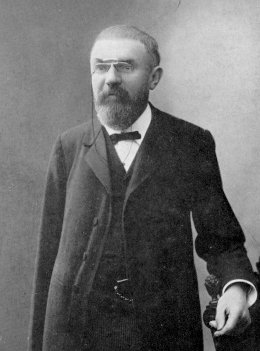 "Henri Poincaré, photograph from the frontispiece of the 1913 edition of ""Last Thoughts"""