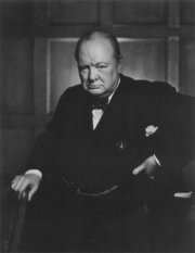 "Winston Churchill popularized the term ""The Iron Curtain""."
