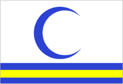 Proposed flag, 2004 (later abandoned)