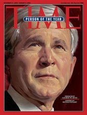 Bush as TIME Person of the Year 2004.