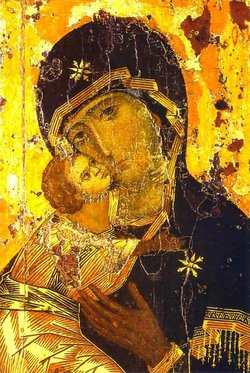 of , one of the most venerated of Orthodox Christian icons of the Virgin Mary.