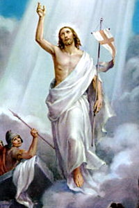 The Resurrection of Jesus - the first of the Glorious Mysteries