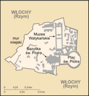 Map of Vatican City