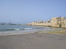 The harbour at Acco in 2005