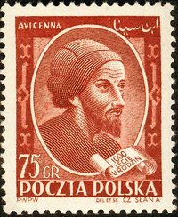 Avicenna's work was so influential that he is even commemorated here in this Polish stamp