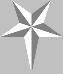 Symbol representing Jesus Christ as the Morning Star.