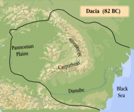 Dacian Kingdom, during the rule of Burebista, 82 BC
