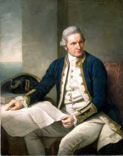 British explorer James Cook, portrait by Nathaniel Dance, c. 1775, National Maritime Museum, Greenwich
