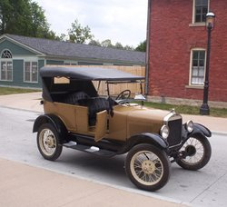 A , Ford's first and signature car.