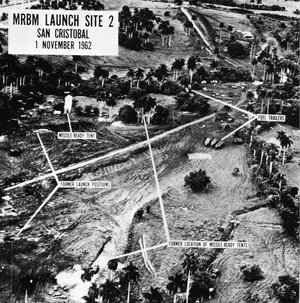 Picture of one of the Soviet missile sites in Cuba