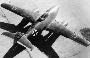 The Messerschmitt Me 262A-1a was the world's first operational jet fighter plane