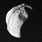 Epimetheus, as imaged by Voyager 1 (NASA)