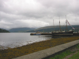 Loch Fyne at Inverary harbour