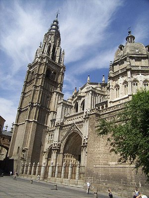 The  of Toledo cathedral