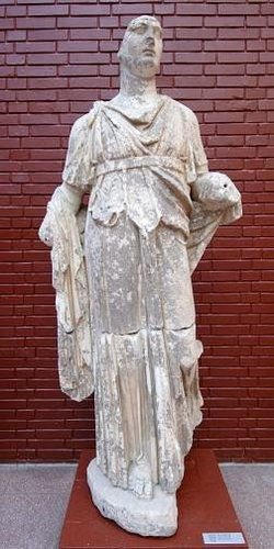 Statute of Dionysos. Image provided by Classroom Clip Art (http://classroomclipart.com)