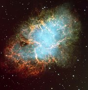 The , the shattered remnants of a star which exploded as a supernova almost 1000 years ago