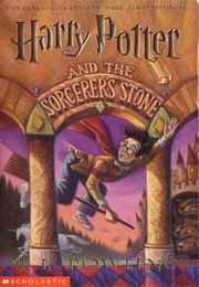 Cover of the  edition, Harry Potter and the Sorcerer's Stone