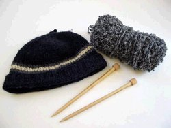 Knit hat, , and .