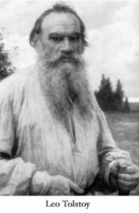 Lev Tolstoy, pictured late in life