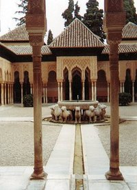 Alhambra, Courtyard of the Lions